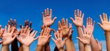 Raised Hands Volunteer