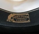 cowboy hat inside label 40 percent beaver