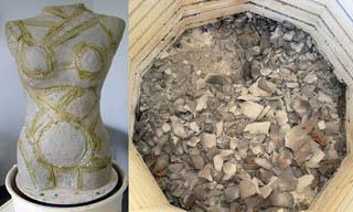 teri-hannigan-gaia-ceramic-sculpture-before-and-after
