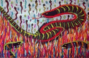 Fire Snakes - Teri Hannigan